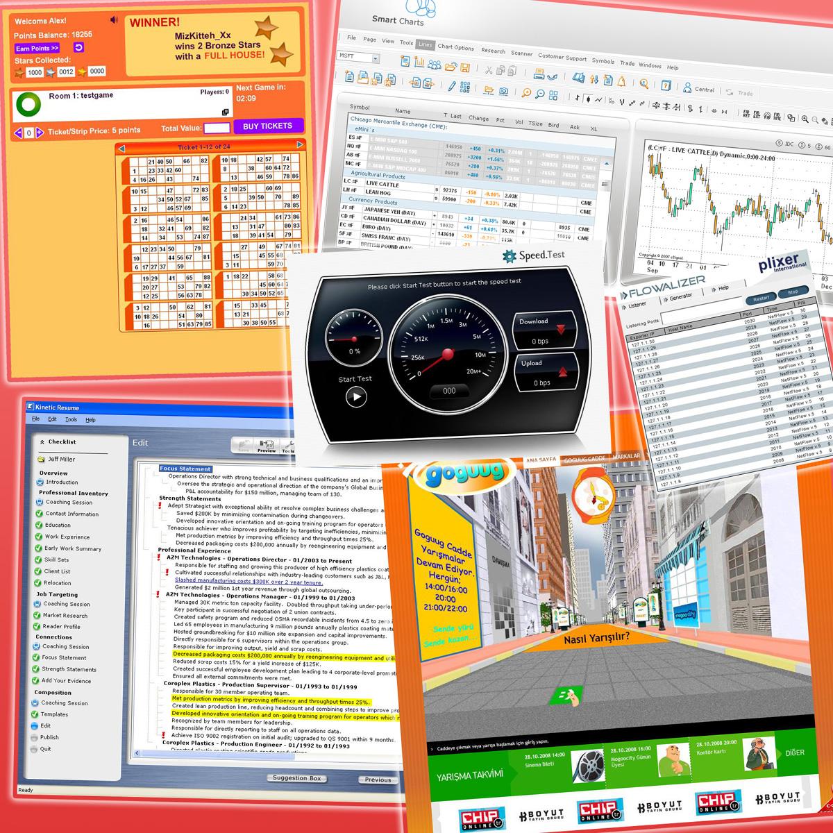 Desktop and Server Applications