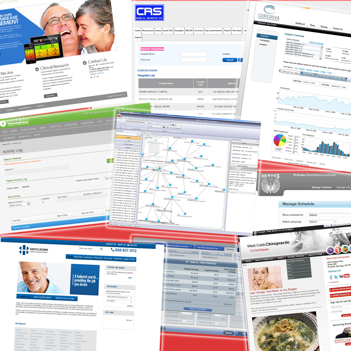 Healthcare and BI Solutions